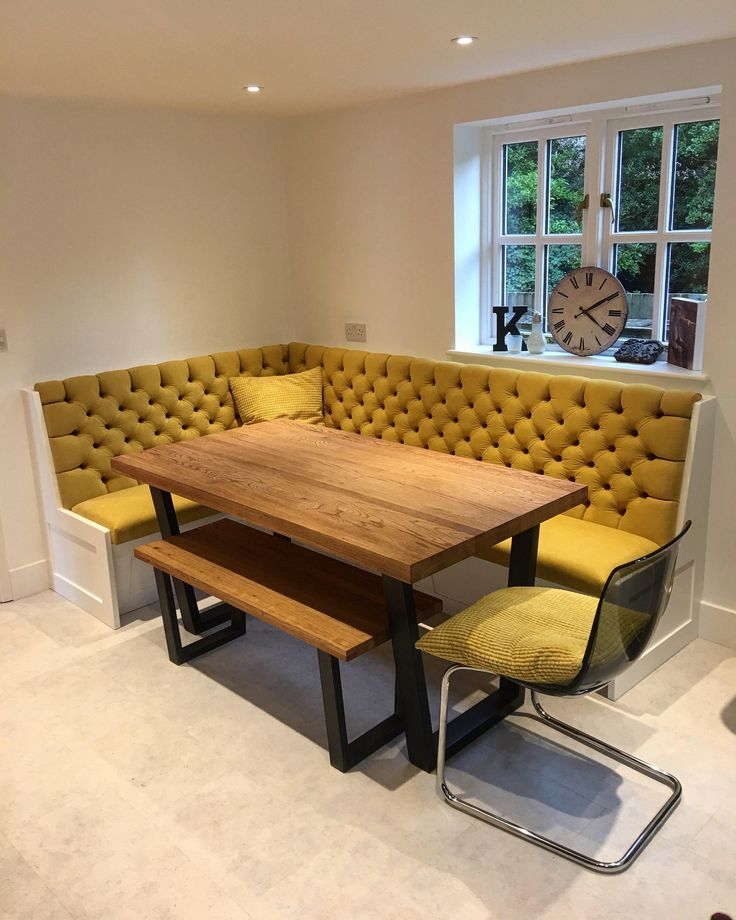 Bespoke Banquette Seating – Deep Buttoned – Undercover Storage