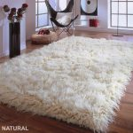 "OMG! Gorgeous 4' x 6' Natural flokati rug. Ultra-plush 4.5""pile.. 100% organic wool - Hand made. Like walking on a cloud"