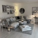 Plus de 60 appartements gris dans le salon