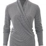 burda style, Schnittmuster, Jersey-Wickelshirt 09/2018 #121B, Must-have in jeder...