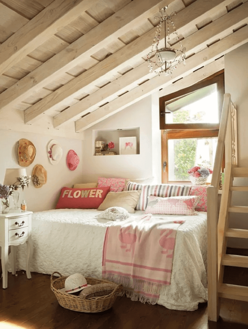 Chambre Girly Farmhouse