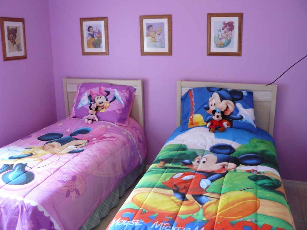 Chambre simple Minnie Mouse