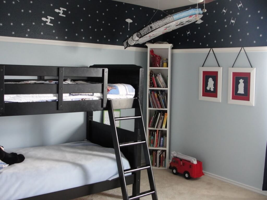 Chambre simple Star Wars