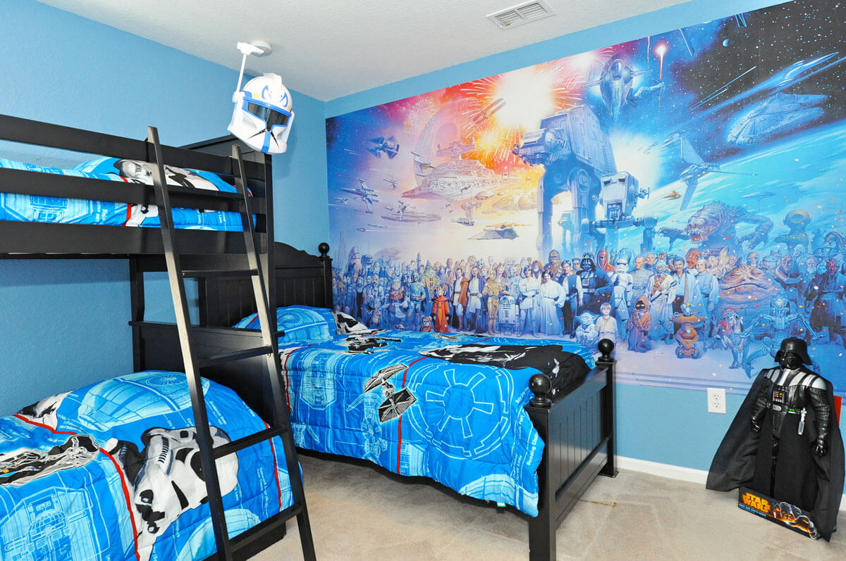 Belle chambre Star Wars
