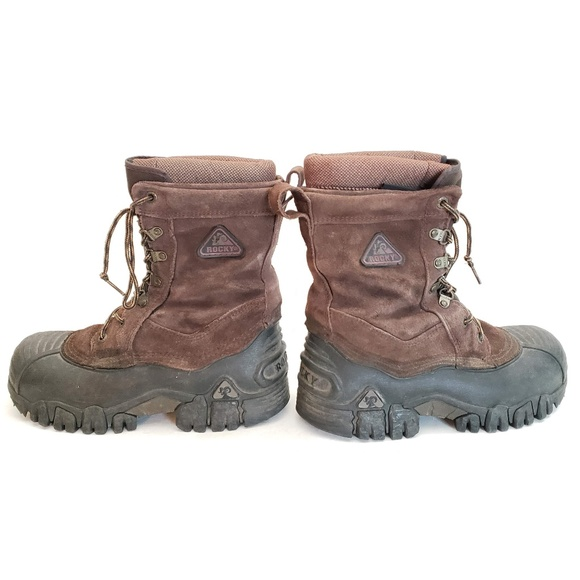Chaussures Rocky |  Bottes en daim Thinsulate Taille 8m 7908 |  Poshma