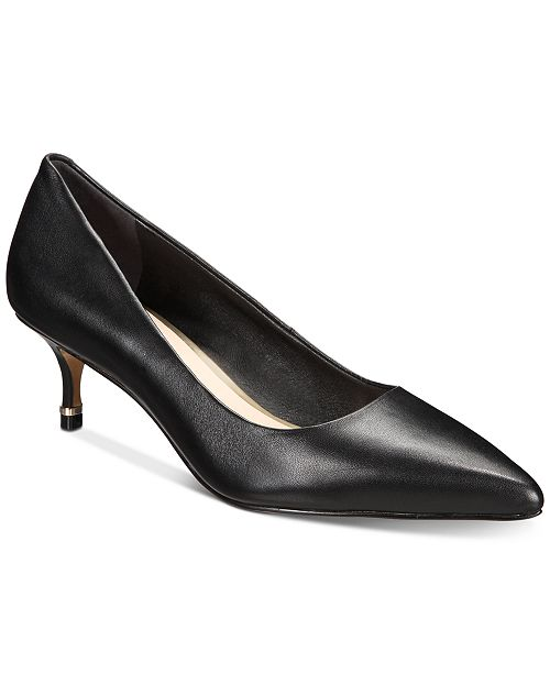Kenneth Cole New York Morgan Kitten-Heel Pumps & Reviews - Talons.
