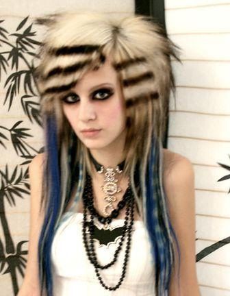 Beautiful Haircut Hairstyles Pictures: Coiffures pour adolescents.
