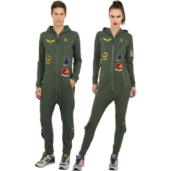 Combinaison Onepiece Aviator Cotton French Terry pour femme (225 $.