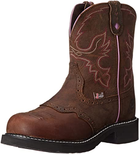 Amazon.fr: Justin Boots Collection Gypsy pour femme à bout rond.