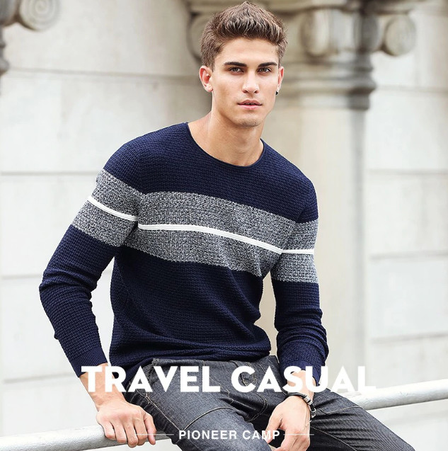 Hommes Pulls Pulls Casual Homme Tricots - Lalbug.c