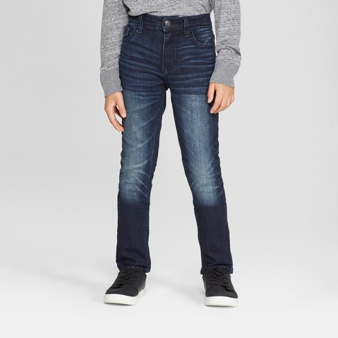 Jean coupe skinny stretch pour garçon - Cat & Jack ™ Medium Blue: Targ