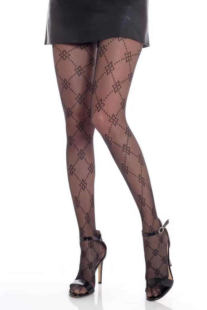 Collants à motifs
