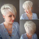Coupes de cheveux intelligentes Pixie