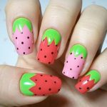 Nail Art Fruits