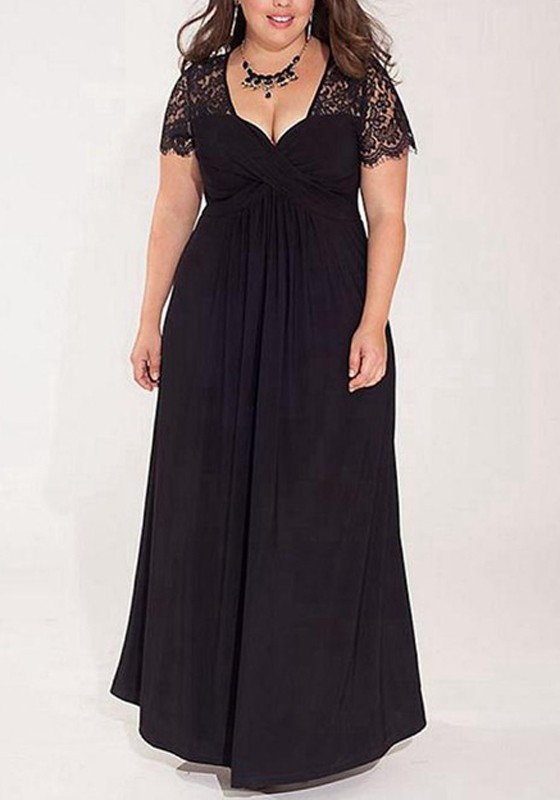 Robes longues grande taille